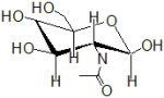 N-(2,4,5-Trihydroxy-6-hydroxymethyl-tetrahydro-pyran-3-yl)-acetamide