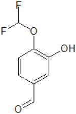 4-Difluoromethoxy-3-hydroxy-benzaldehyde