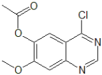 Acetic acid 4-chloro-7-methoxy-quinazolin-6-yl ester